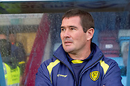 Burton Albion Manager Nigel Clough during the The FA Cup 1st round match between Scunthorpe United and Burton Albion at Glanford Park, Scunthorpe, England on 10 November 2018.