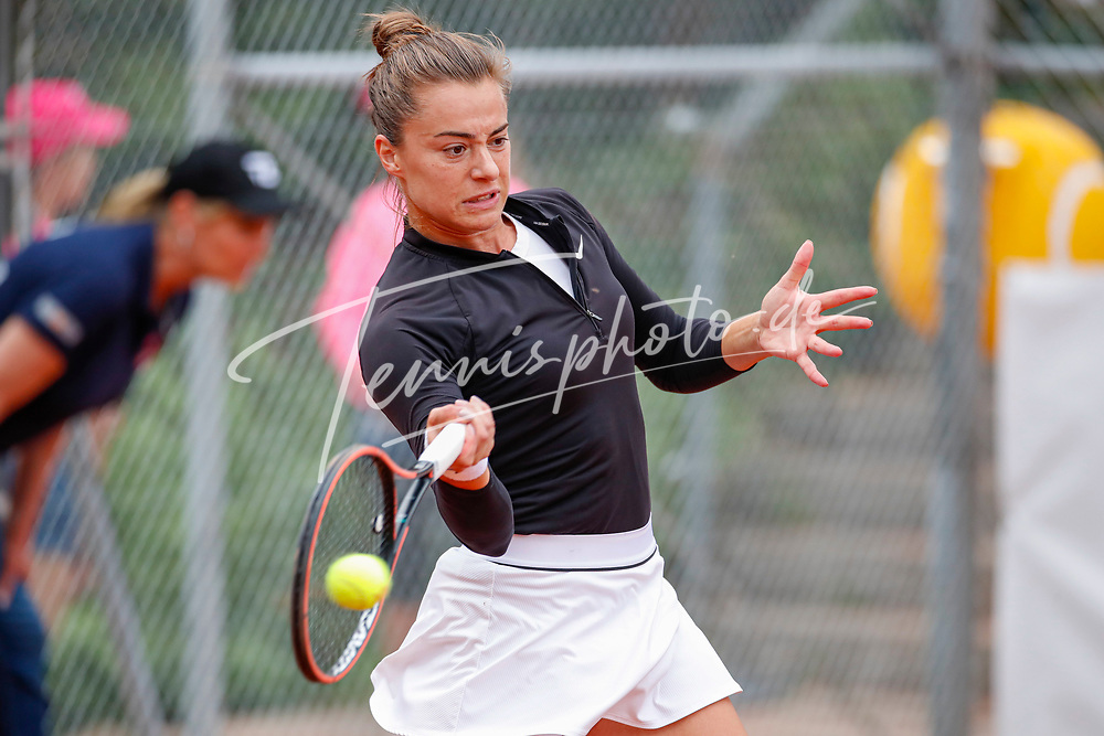 Lina Gjorcheska (MKD) - WTO Wiesbaden Tennis Open - ITF World Tennis Tour 80K, 24.9.2021, Wiesbaden (T2 Sport Health Club), Deutschland, Photo: Mathias Schulz