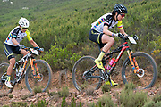 Sabine SPITZ (DEU) and Nadine RIEDER (DEU) of team Meerendal WIAWIS Rotwild during the Prologue of the 2019 Absa Cape Epic Mountain Bike stage race held at the University of Cape Town in Cape Town, South Africa on the 17th March 2019.<br /> <br /> Photo by Greg Beadle/Cape Epic<br /> <br /> PLEASE ENSURE THE APPROPRIATE CREDIT IS GIVEN TO THE PHOTOGRAPHER AND ABSA CAPE EPIC