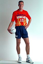 21-05-1997 VOLLEYBAL: TEAMPRESENTATIE MANNEN: WOERDEN<br /> Mark Broere<br /> ©2007-WWW.FOTOHOOGENDOORN.NL