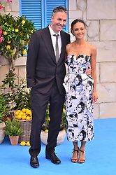 © Licensed to London News Pictures. 16/07/2018. London, UK. Director Ol Parker and Thandie Newton attends the Mamma Mia! Here We Go Again World Film Premiere at Eventim Apollo Hammersmith. Photo credit: Ray Tang/LNP