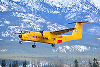 RCAF CC-115 DeHavilland Buffalo takes off from Whitehorse International Airport