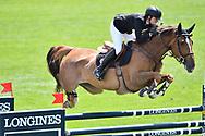 Pilar Lucrecia CORDON (ESP) riding GALINE LA COUR ZICHELHOF during the International Show Jumping of La Baule 2018 (Jumping International de la Baule), on May 18, 2018 in La Baule, France - Photo Christophe Bricot / ProSportsImages / DPPI