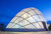 Hothouse at the Botanical Gardens, Aarhus, Denmark. Architect: C. F. Møller. Engineer: Søren Jensen