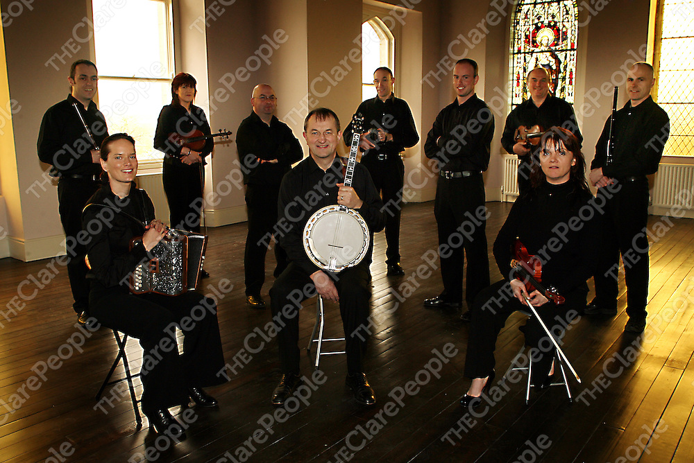 The 2009 Kilfenora Ceile Band.<br /> Photograph by Yvonne Vaughan