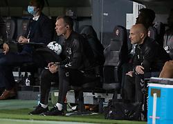Assistenttræner Morten Wieghorst (Danmark) under UEFA Nations League kampen mellem Danmark og Belgien den 5. september 2020 i Parken, København (Foto: Claus Birch).