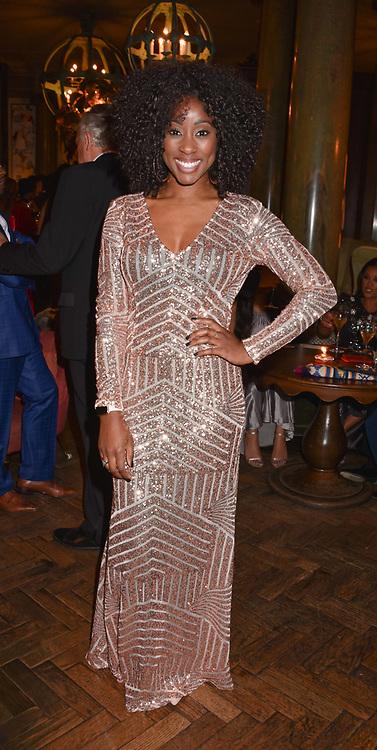 Scarlette Douglas at the Nelson Mandela Foundation Gala Dinner, Rosewood, London England. 24 April 2018.