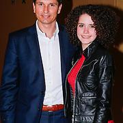 NLD/Amsterdam/20130309 - Modeshow Mart Visser zomer 2013, Richard Krajicek en dochter Emma Krajicek