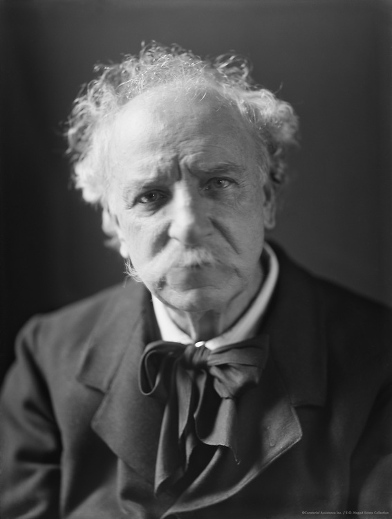 Charles Santley, Sir, English opera singer, 1912