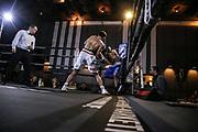 Boxen: Dinnerboxen, Lüchow, 27.12.2017<br /> Supermittelgewicht: Sebastiano Lo Zito (Hamburg) - Davor Matic (Polen)<br /> © Torsten Helmke