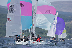 Sailing - SCOTLAND  - 27th May 2018<br /> <br /> 3rd days racing the Scottish Series 2018, organised by the  Clyde Cruising Club, with racing on Loch Fyne from 25th-28th May 2018<br /> <br /> GBR7052N, More T Vicar, Carl Allen, Royal North of Ireland YC<br /> <br /> Credit : Marc Turner<br /> <br /> Event is supported by Helly Hansen, Luddon, Silvers Marine, Tunnocks, Hempel and Argyll & Bute Council along with Bowmore, The Botanist and The Botanist