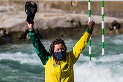 Ana SATILA (BRA) during Canoe Finals at World Cup Tacen, 18 October 2020, Tacen, Ljubljana Slovenia. Photo by Grega Valancic / Sportida