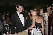 Zac and Sheherazade Goldsmith, British Red Cross Ball, Waterloo. London. 16 November 2006.  TIME USE ONLY - DO NOT ARCHIVE  © Copyright Photograph by Dafydd Jones 66 Stockwell Park Rd. London SW9 0DA Tel 020 7733 0108 www.dafjones.com