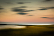 abstract of The Hamptons at Sunset