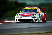 August 4-6, 2011. American Le Mans Series, Mid Ohio. 45 Flying Lizard Motorsports, Jörg Bergmeister, Patrick Long, Porsche 997 GT3-RSR