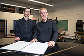 Composer Thomas Kozumplik and Legendary Percussionist Jonathan Haas
