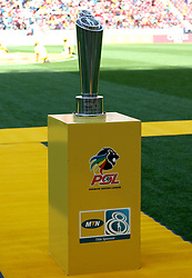 MTN8 Trophy during the 1st leg of the MTN8 Semi Final between Chippa United and Mamelodi Sundowns held at the Nelson Mandela Bay Stadium in Port Elizabeth, South Africa on the 11th September 2016<br /><br />Photo by: Richard Huggard / Real Time Images