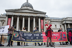 Dr Gail Bradbrook, co-founder of Extinction Rebellion, addresses fellow environmental activists in Trafalgar Square on the first day of Impossible Rebellion protests on 23rd August 2021 in London, United Kingdom. Extinction Rebellion are calling on the UK government to cease all new fossil fuel investment with immediate effect. (photo by Mark Kerrison/In Pictures via Getty Images)