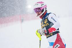 Nef Tanguy (SUI) during the Audi FIS Alpine Ski World Cup Men's  Slalom at 60th Vitranc Cup 2021 on March 14, 2021 in Podkoren, Kranjska Gora, Slovenia Photo by Grega Valancic / Sportida