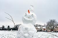 snowman stratford upon Avon  Photo by Mark Anton Smith