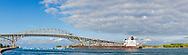 64795-01607 Ship and Blue Water Bridge Port Huron, MI