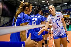 23-08-2017 NED: World Qualifications Greece - Slovenia, Rotterdam<br /> SloveniÎ wint met 3-0 / Eva Mori #1 of Slovenia<br /> Photo by Ronald Hoogendoorn / Sportida