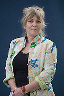 Best-selling Scottish author Kate Atkinson, pictured at the Edinburgh International Book Festival where she talked about her latest book entitled One Good Turn. The Book Festival was the World's largest literary event and featured writers from around the world. The 2007 event featured around 550 writers and ran from 11-27 August.