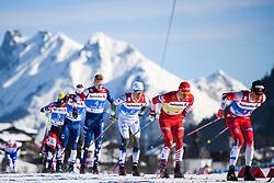 February 24, 2019 - Seefeld In Tirol, AUSTRIA - 190224 Calle Halfvarsson of Sweden competes in men's team sprint semi final during the FIS Nordic World Ski Championships on February 24, 2019 in Seefeld in Tirol..Photo: Joel Marklund / BILDBYRN / kod JM / 87889 (Credit Image: © Joel Marklund/Bildbyran via ZUMA Press)
