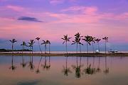 Anaeho' Omalu Bay at Sunrise Big Island of Hawaii