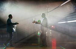 18-05-2019 GER: CEV CL Super Finals Igor Gorgonzola Novara - Imoco Volley Conegliano, Berlin<br /> Igor Gorgonzola Novara take women's title! Novara win 3-1 / Aleksandar Boricic the president of the European volleyball federation (CEV)