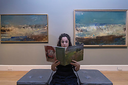 A new exhibition at the Scottish National Gallery of Modern Art gives an opportunity to trace the life and work of one of Scotland's most admired artists, Joan Eardley. <br /> <br /> Joan Eardley: A sense of place charts through unpublished archival material and loans from private collections the unique working methods of the artist Joan Eardley.<br /> <br /> Pictured: Seascape (Foam and Blue Sky), 1962 and Summer Sea, 1962