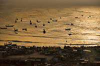 Fishing Boats on Gulf of Guinea, Jamestown