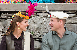 File photo dated 16/10/19 of the Duke and Duchess of Cambridge during a visit to a settlement of the Kalash people in Chitral, Pakistan. The Duchess of Cambridge will have spent a decade as an HRH when she and the Duke of Cambridge mark their 10th wedding anniversary on Thursday. Issue date: Wednesday April 28, 2021.