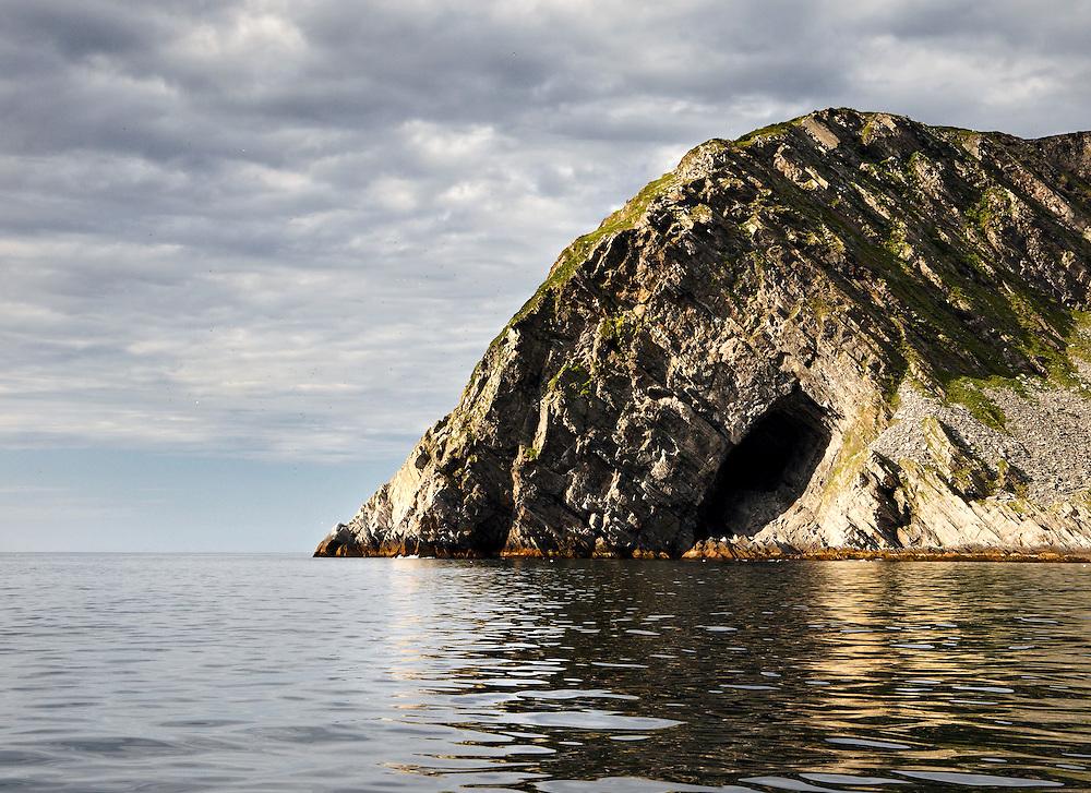 Norway - Cave on Loppa island