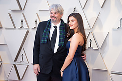 Ian Hunter, Oscar® nominee, and guest arrive on the red carpet of The 91st Oscars® at the Dolby® Theatre in Hollywood, CA on Sunday, February 24, 2019.