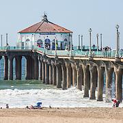 Redondo Beach, Hermosa Beach, Manhattan Beach, & El Segundo Stock Photos