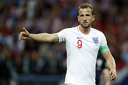 Harry Kane of England during the 2018 FIFA World Cup Russia Semi Final match between Croatia and England at the Luzhniki Stadium on July 01, 2018 in Moscow, Russia