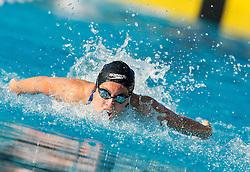Nastja Govejsek of PK Velenje competes in 50m Butterfly during Slovenian Swimming National Championship 2014, on August 2, 2014 in Ravne na Koroskem, Slovenia. Photo by Vid Ponikvar / Sportida.com