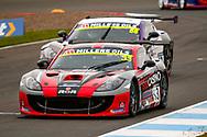 James Kell(GBR) during the Millers Oil Ginetta GT4 Supercup Championship at Knockhill Racing Circuit, Dunfermline, Scotland on 15 September 2019.