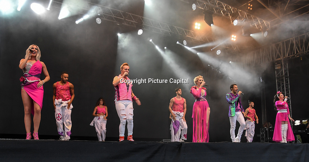 STEPS perform live at Kew The Music Festival 2018 on 10th July 2018.