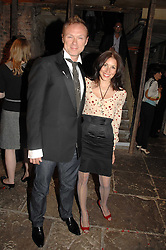 GARY KEMP and his wife LAUREN BARBER at the Stephen Webster launch party of his latest jewellery collection during the London Jewellery Week, at Wilton's Music Hall, Graces Alley, Off Ensign Street, London E1 on 12th June 2008.<br /><br />NON EXCLUSIVE - WORLD RIGHTS