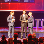NLD/Amsterdam/20150416 - Opening AutoRai 2015, Mark Rutte opent de autobeurs