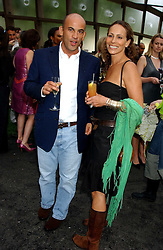GUY & ANDREA DELLAL at the annual Serpentine Gallery Summer Party co-hosted by Jimmy Choo shoes held at the Serpentine Gallery, Kensington Gardens, London on 30th June 2005.<br /><br />NON EXCLUSIVE - WORLD RIGHTS