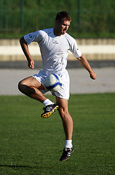 Nejc Zupancic at practice of free players of SPINS before departure to FIFPro tournament 2008 in Amsterdam, The Netherlands, for out-of-contract football professionals, on July 16, 2008, at Stadium ND Ilirija, in Ljubljana, Slovenia. (Photo by Vid Ponikvar / Sportal Images)