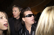 John Taylor and Andy taylor. Juicy Couture party, Home House. 23 October 2002. © Copyright Photograph by Dafydd Jones 66 Stockwell Park Rd. London SW9 0DA Tel 020 7733 0108 www.dafjones.com