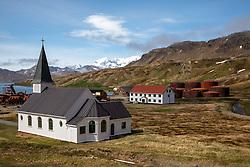 Arriving At Grytviken After Hiking From Maiviken