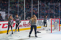 REGINA, SK - MAY 25: Ice Crew at the Brandt Centre on May 25, 2018 in Regina, Canada. (Photo by Marissa Baecker/CHL Images)