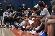 THOUSAND OAKS, CA Sunday, August 12, 2018 - Nike Basketball Academy. John Lucas sits courtside. <br /> NOTE TO USER: Mandatory Copyright Notice: Photo by Jon Lopez / Nike