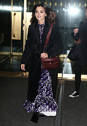Jenna Coleman visits Today Show in New York. 09 Jan 2019 Pictured: Jenna Coleman. Photo credit: MEGA TheMegaAgency.com +1 888 505 6342