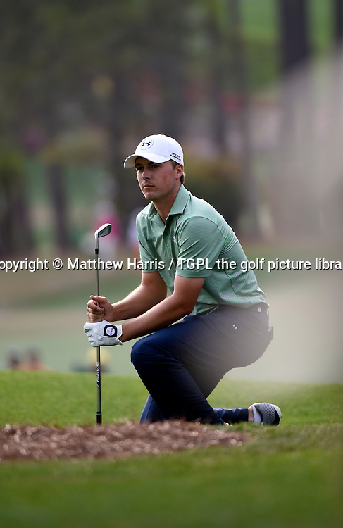Jordan SPIETH (USA) during fourth round US Masters 2014,Augusta National,Augusta, Georgia,USA.